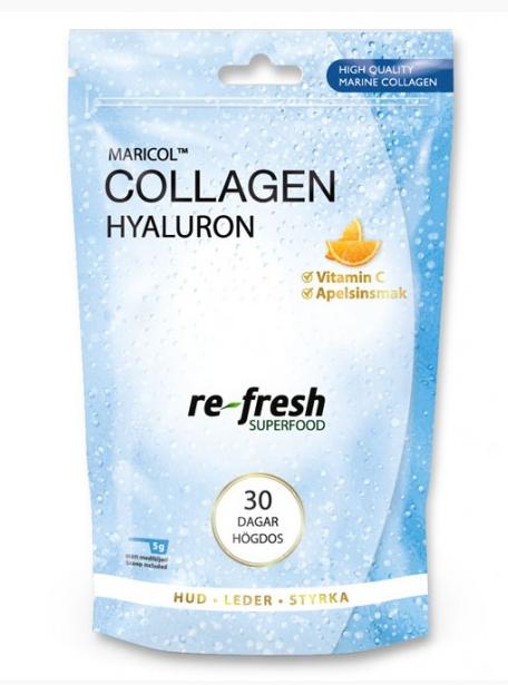Collagen Hyaluron 30 Dagar Högdos
